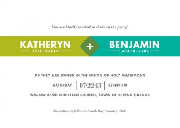 United Wedding Invitations