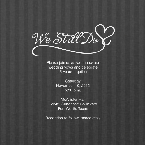 Wedding Renewal Invitations for luxury invitations template