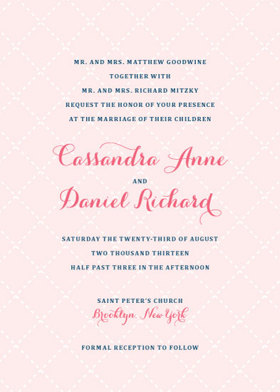 wedding invitations - Pearlescent by Sincerely Jackie