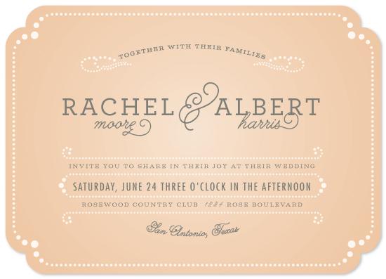wedding invitations - vintage tray by Aspacia Kusulas