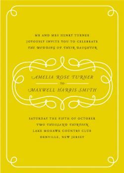 Loopy In Love Wedding Invitations