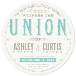 Circle Of Love Wedding Invitations