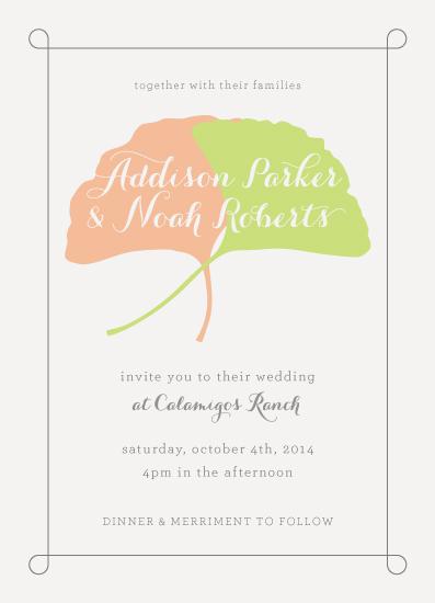 wedding invitations - Ginkgo Wedding by el Bandel