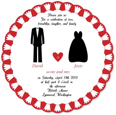 wedding invitations - Celebration of Love by Pirediba Parameswaran
