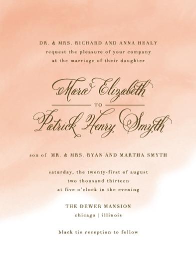 wedding invitations - Wedding Watercolor by Lehan Veenker