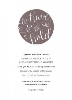 From this Day Forward Wedding Invitations