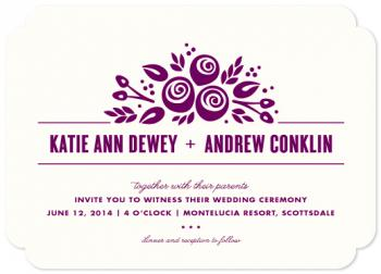 Le Bouquet Wedding Invitations