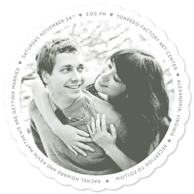 wedding invitations - Love All Around by The Sweetest Little Design