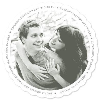wedding invitations - Love All Around by Joyrich Design Company