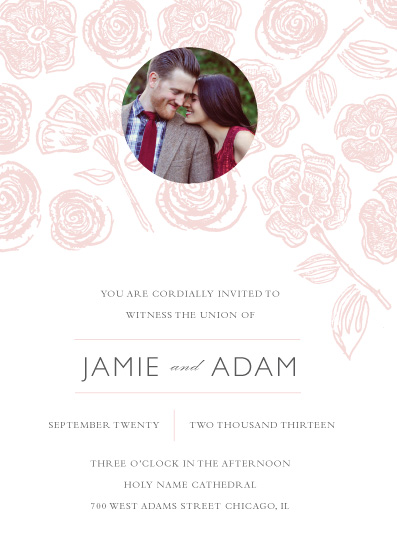 wedding invitations - Love Blooms with You by Jules and Ink