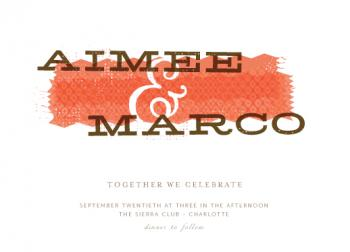 Mixe Wedding Invitations