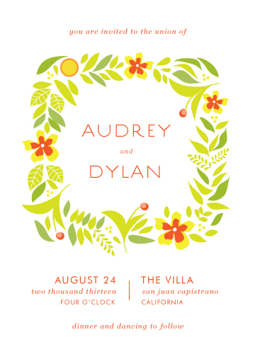 wedding invitations - Summer Solstice by Monica Schafer