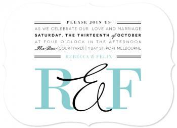 Serenity Wedding Invitations