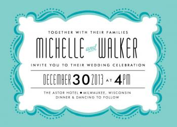 The Main Event Wedding Invitations