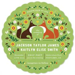 Woodland Wedding Wedding Invitations