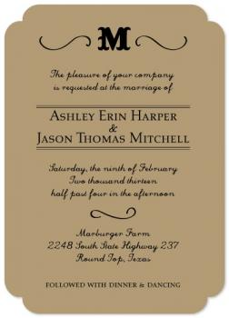 Antebellum Elegance Wedding Invitations