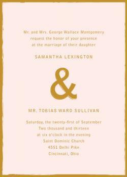 Gilty Wedding Invitations