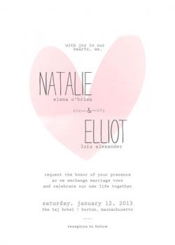 the write type Wedding Invitations