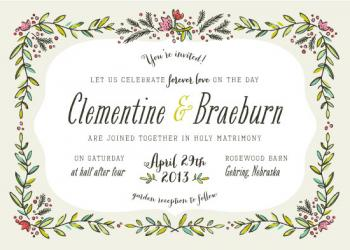 Suffolk Wedding Invitations