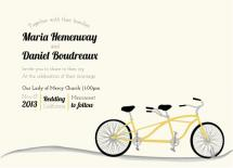 bicycle built for two by Maria Boudreaux
