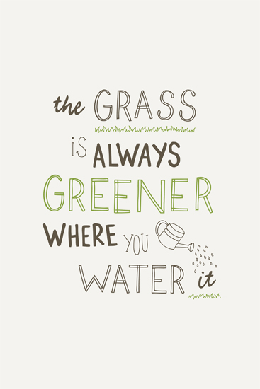 art prints - Always Greener by Amber Barkley
