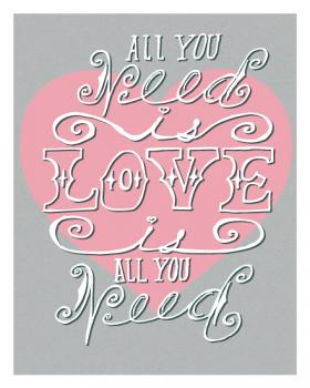 All You Need Art Print Art Prints