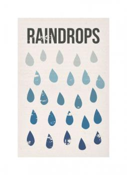 Raindrops Keep Falling on My Head Art Prints
