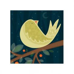 Sleeping Bird Art Prints