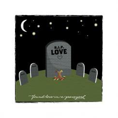 found love in a graveyard Art Prints
