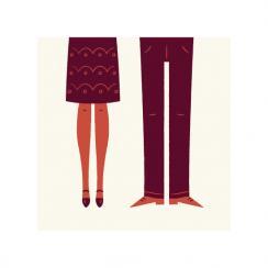 The Happy Couple Art Prints