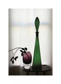 Still Life : Colored Glass Art Prints