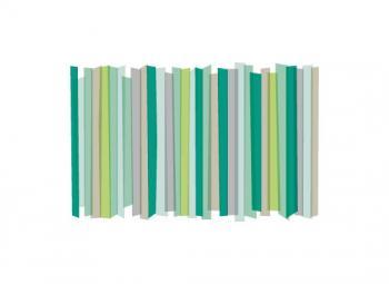 modern family of stripes Art Prints