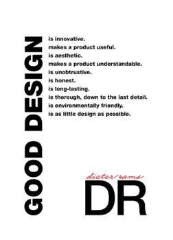dieter rams: ten principals of good design