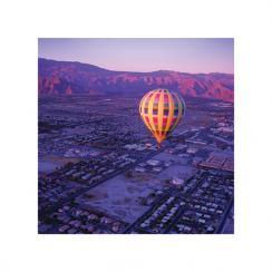 Hot Air Balloon Ride at Sunrise Art Prints