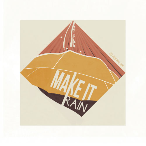 art prints - Make It Rain by Vanessa Noe