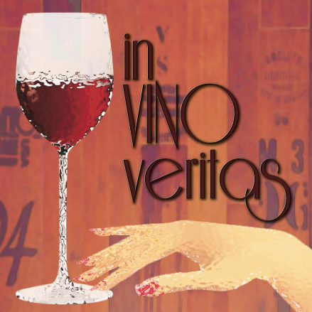 art prints - Vino Veritas by A. Paige Designs