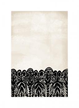 Black Lace Art Prints