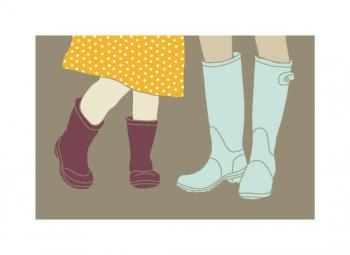 Our Wellies Art Prints