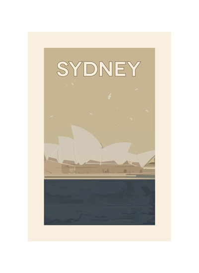 art prints - Vintage Sydney by AJCreative