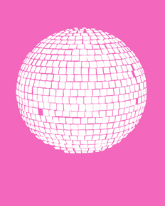 art prints - Mirrorball by Jorey Hurley
