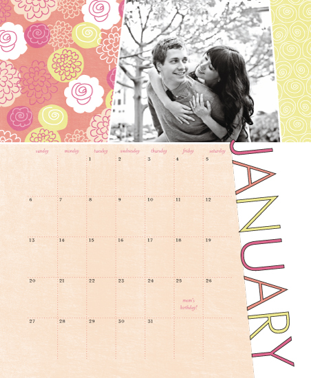 calendars - FreshAndFruity by Muffin Grayson