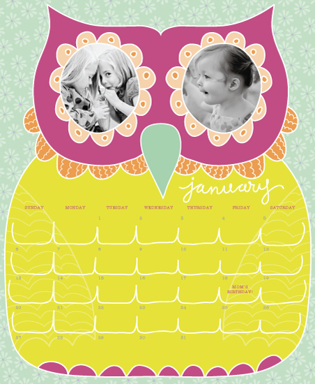calendars - OscarTheOwl by Muffin Grayson