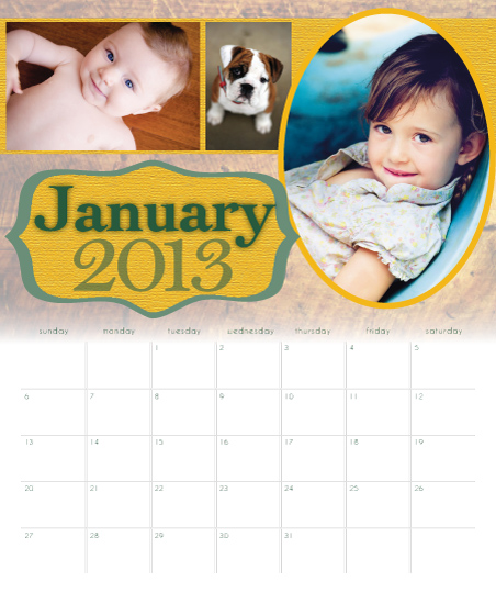 calendars - Simply Rustic by A. Paige Designs