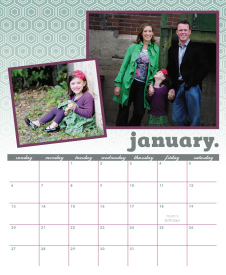 calendars - Hannah Honeycomb by the co.co. studio