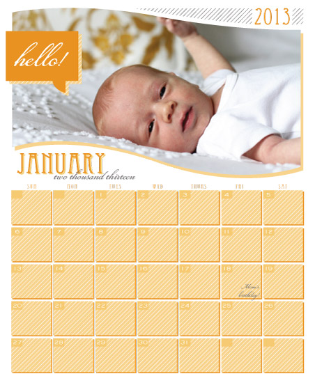 calendars - Hello My Friend by the co.co. studio