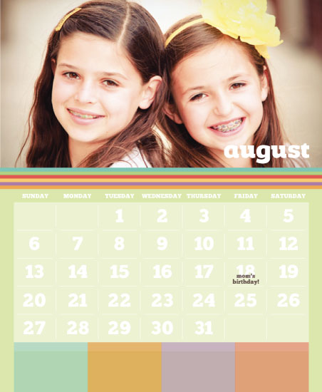 calendars - Family Post by the co.co. studio