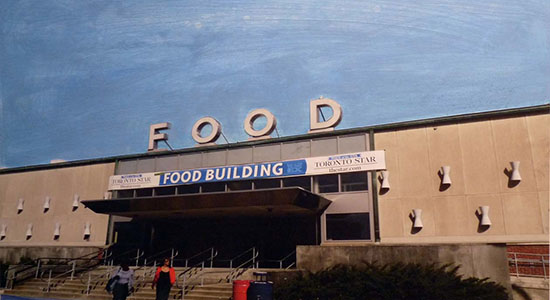 art prints - FOOD building, CNE Toronto by Annie Seaton