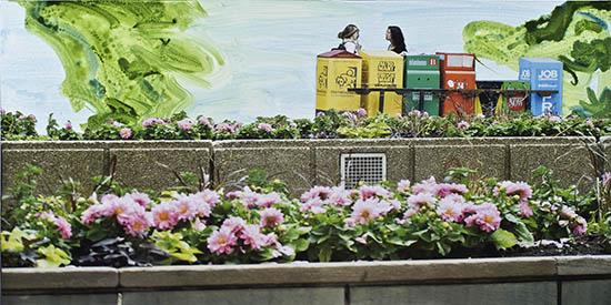 art prints - Toronto Newspaper Boxes by Annie Seaton