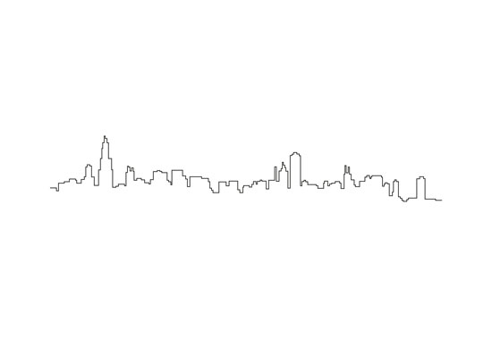 Chicago Skyline Drawings Art Prints Chicago Skyline