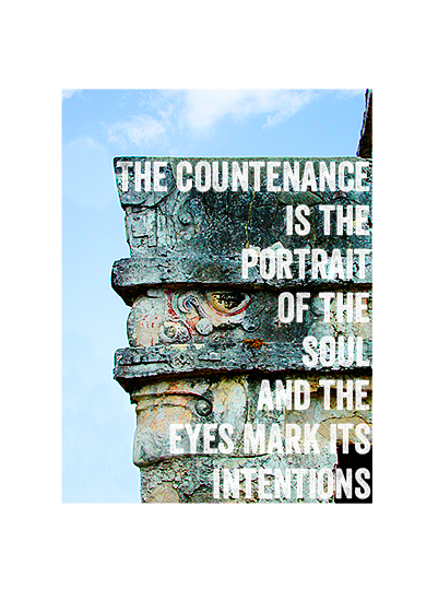 art prints - Countenance by Laura Bolter Design